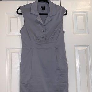 Grey sleeveless dress with pockets!